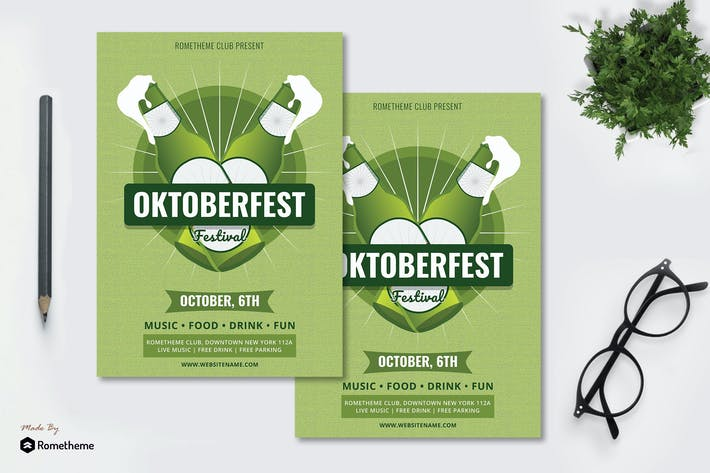 Thumbnail for Oktoberfest vol.03 - Event Flyer RB