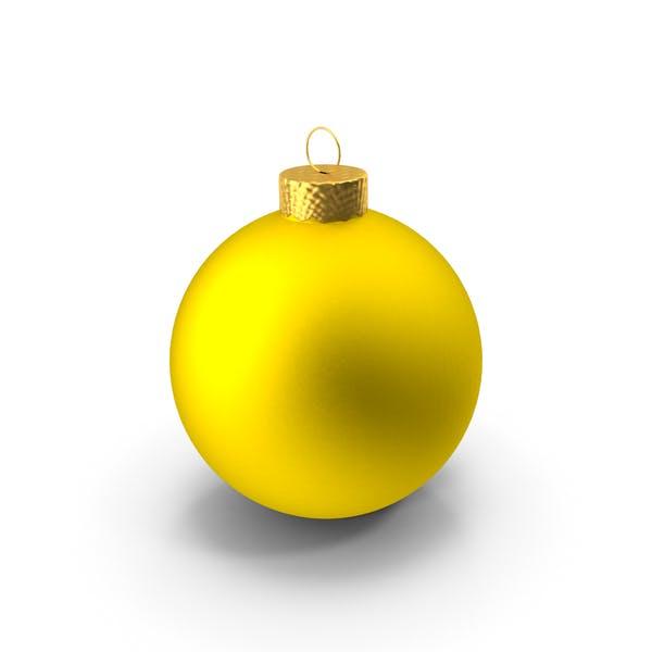 Thumbnail for Yellow Ball Ornament
