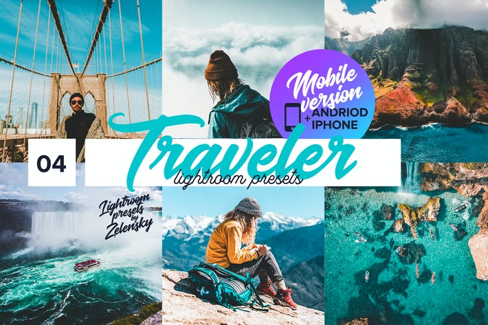Thumbnail for Traveler mobile  Lightroom Presets