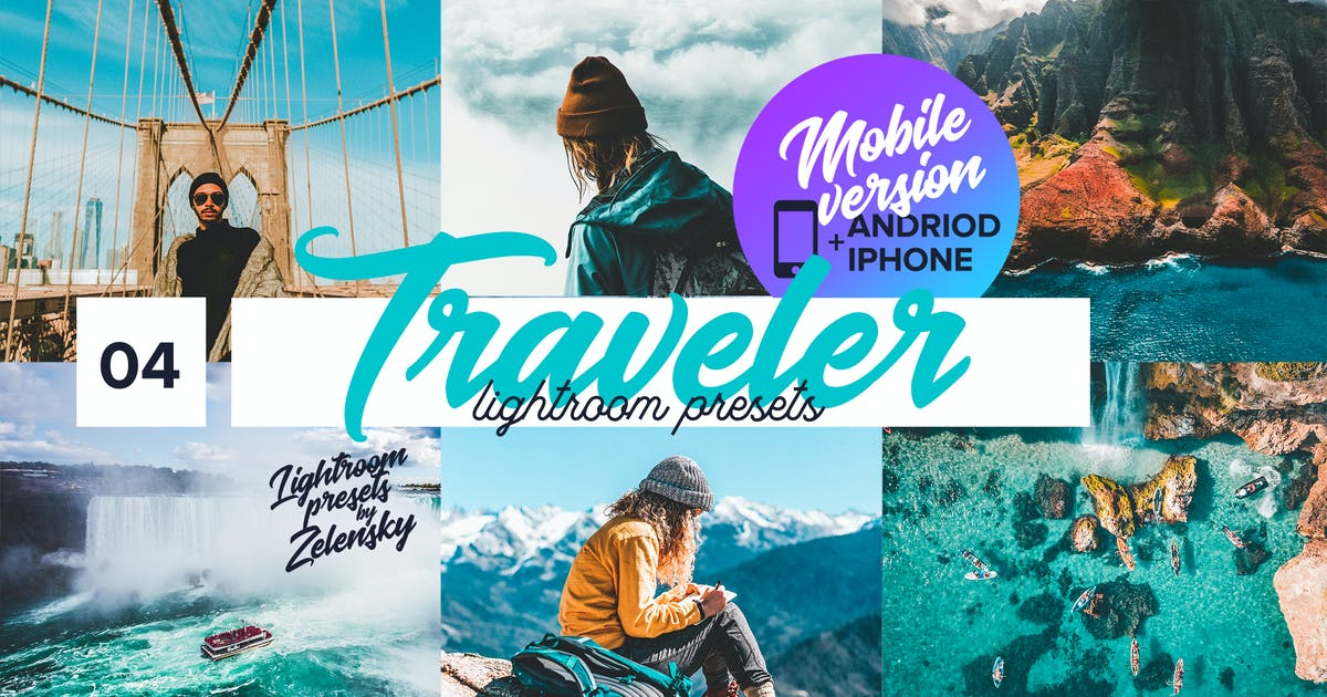 Download Traveler mobile  Lightroom Presets by ZelenskyRuslan
