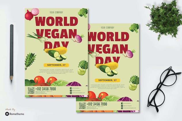 World Vegan Day vol.01 - Flyer RB