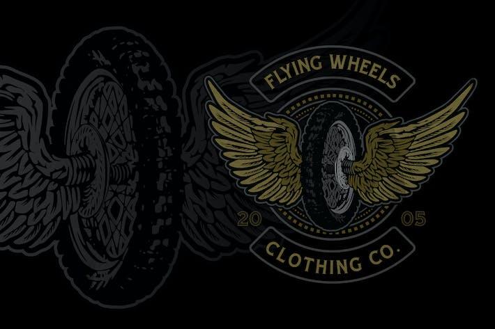 Thumbnail for Classic Motocross Badge Logo Volume 2 No.2