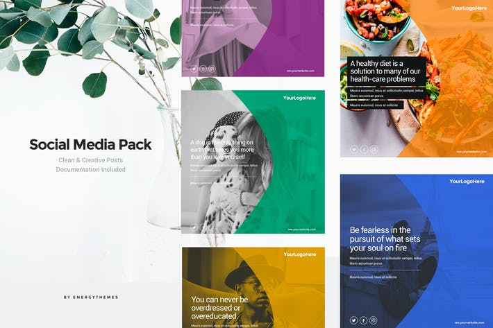 Cover Image For Social Media Banners - Vol36