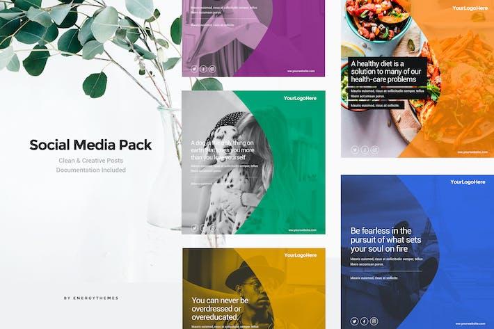 Thumbnail for Social Media Banners - Vol36