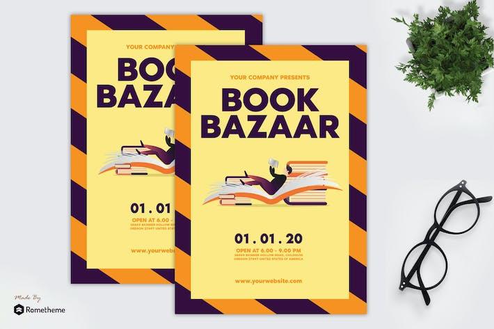 Thumbnail for Book Bazaar - Flyer GR