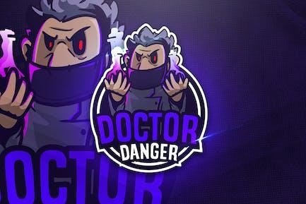 Doctor Danger - Mascot & Esport Logo