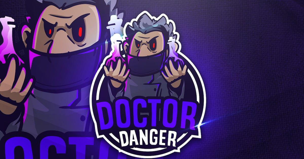 Download Doctor Danger - Mascot & Esport Logo by aqrstudio