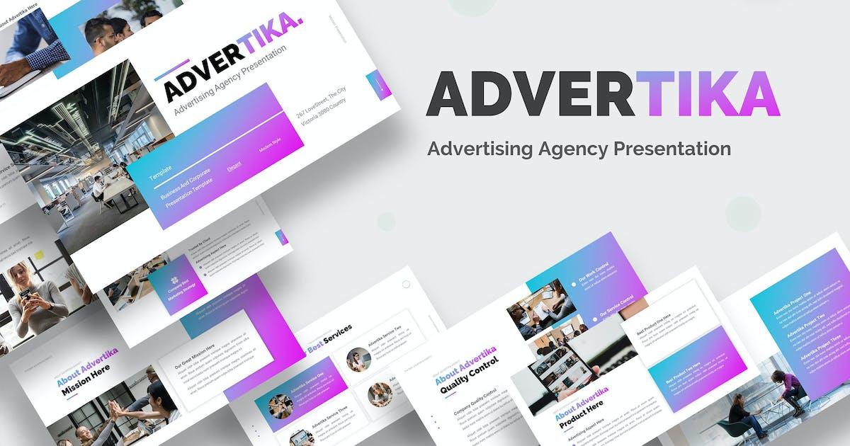 Download Advertika Advertising Business - Keynote by Rometheme