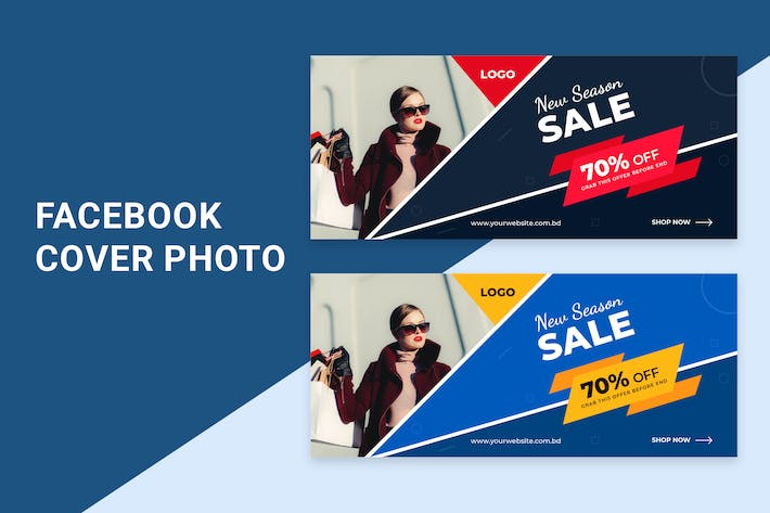 Thumbnail for New Season Sale| facebook cover template
