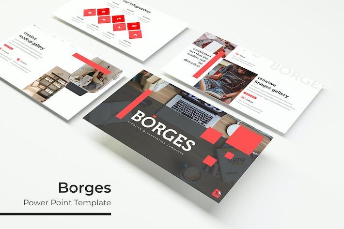 Thumbnail for Borges - Plantilla de PowerPoint