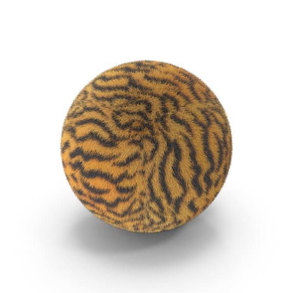 Tiger Fur Ball