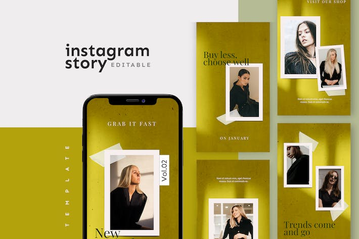 Thumbnail for Instagram Story Template
