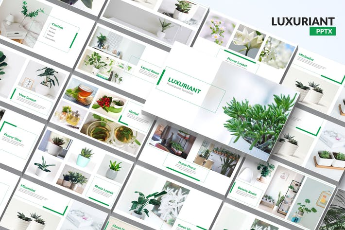 Thumbnail for Luxuriant - Шаблон Powerpoint