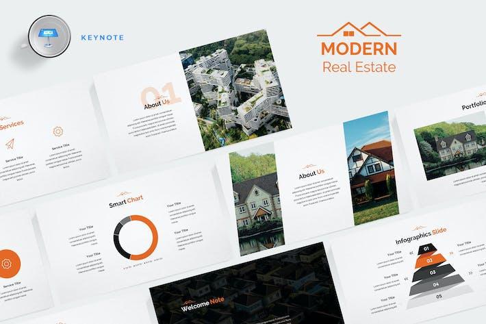 Thumbnail for Modern Real Estate Keynote Template