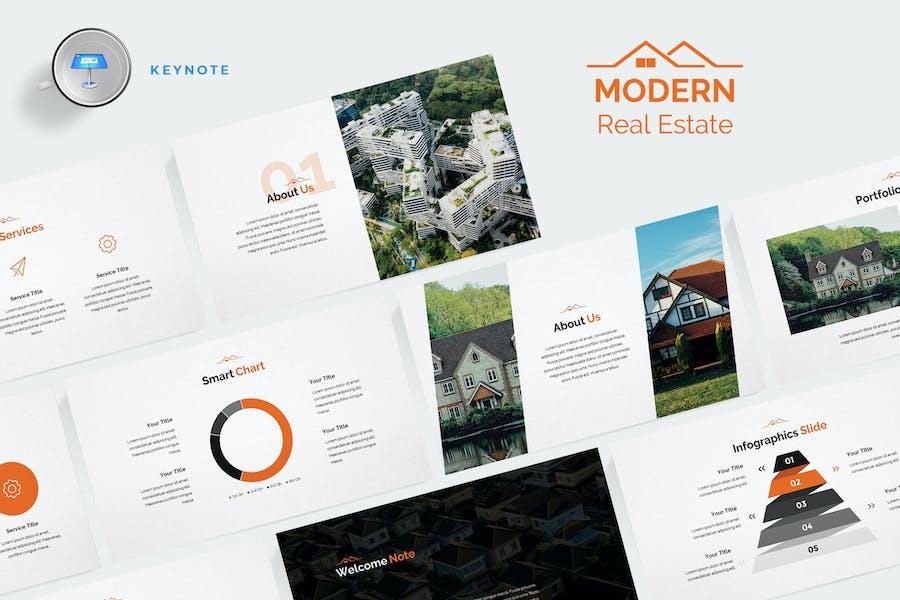 Modern Real Estate Keynote Template