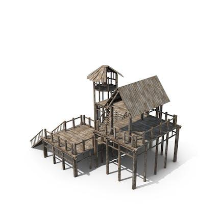 Alte Holzhütte