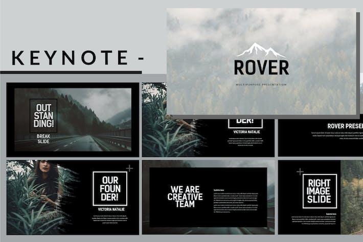Thumbnail for Rover Adventure - Dark Keynote Template
