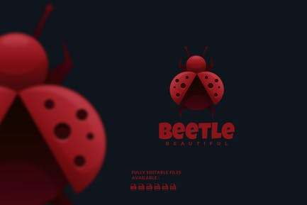 Beetle Gradient Colorful Logo