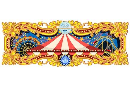 Carnival Banner Circus Theme