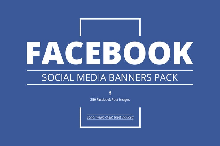Thumbnail for Facebook Social Media Banners Pack