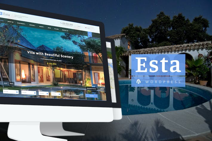 Thumbnail for Esta — Responsive Real Estate WordPress Theme