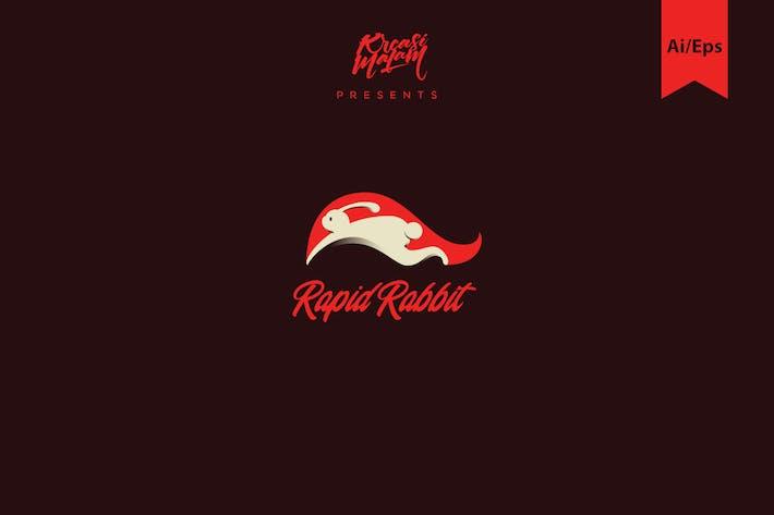 Rapid Rabbit Logo Template