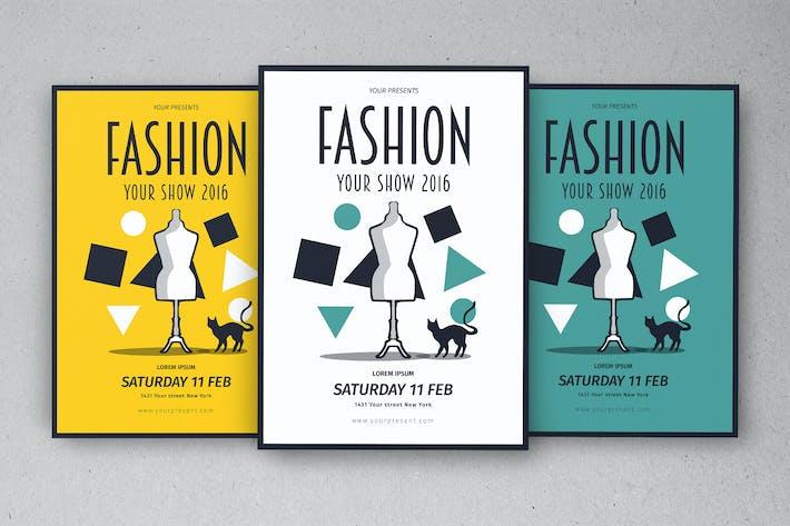 Thumbnail for Vintage Fashion Flyer