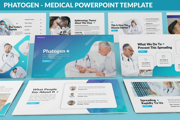 Phatogen - Medical Powerpoint Template
