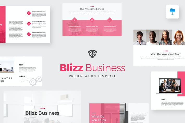 Thumbnail for Blizz Business - Keynote