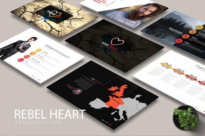 Cover Image For REBEL HEART Google Slides