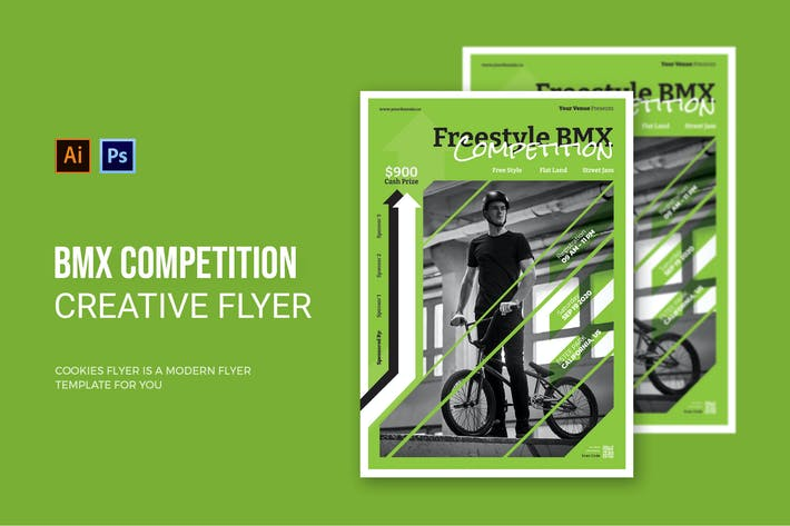 Thumbnail for BMX Competition - Flyer