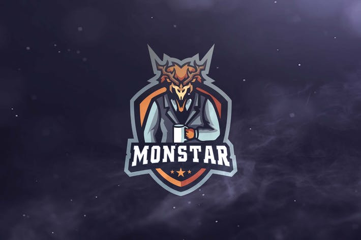 Thumbnail for Monstar Sport and  Esports Logos