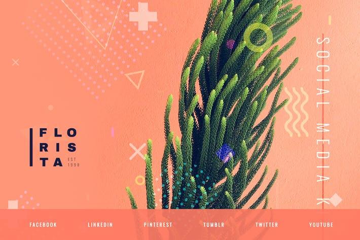 Thumbnail for Floral Design Studio – Social Media Kit