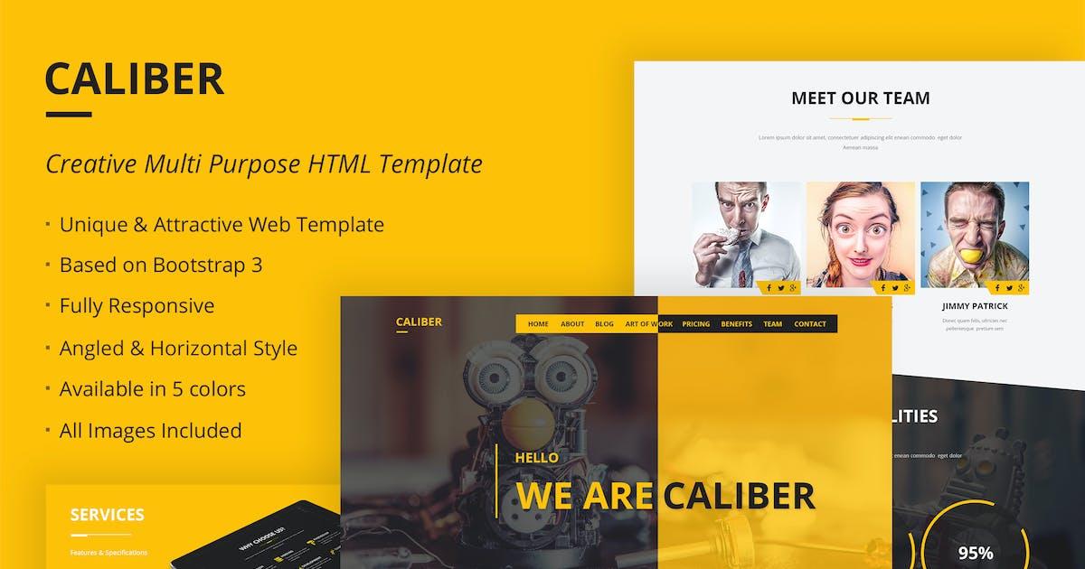 Download Caliber - Creative Multi Purpose HTML Template by themepassion