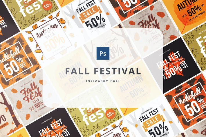 Thumbnail for Fall festival Instagram Post