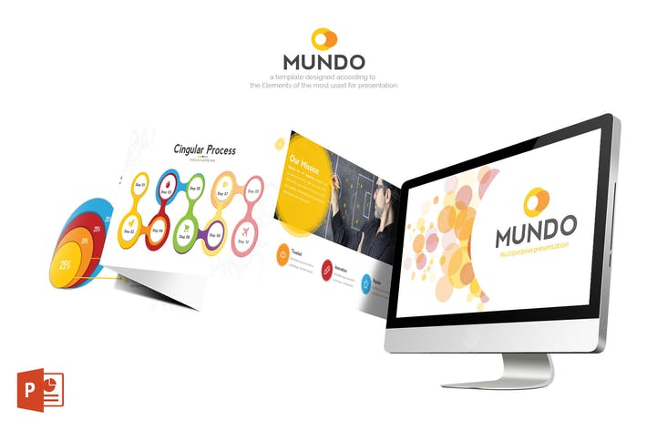 Thumbnail for Mundo Powerpoint Template