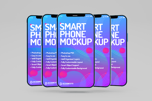 Iphone 12 Simple – Mockup Template