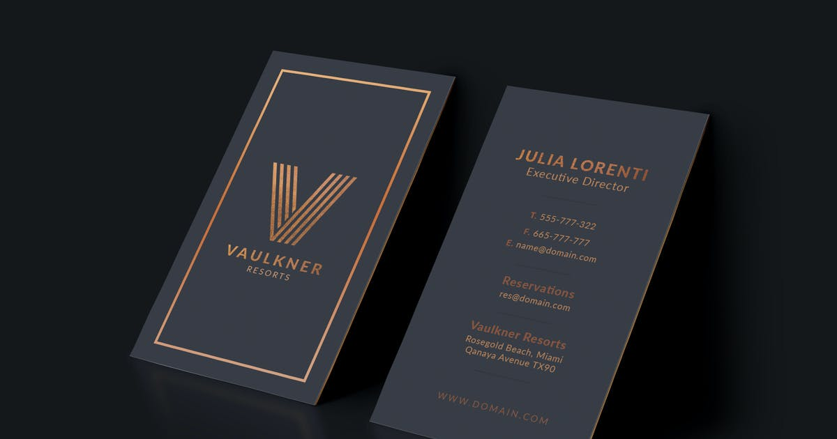 Download Luxury Resorts Business Card by micromove