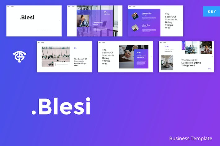 Thumbnail for Blesi Business - Keynote