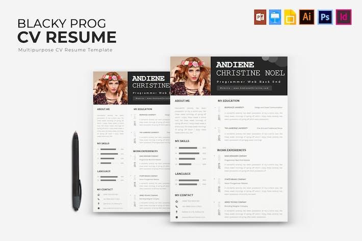 Thumbnail for Blecky Program |  CV & Resume