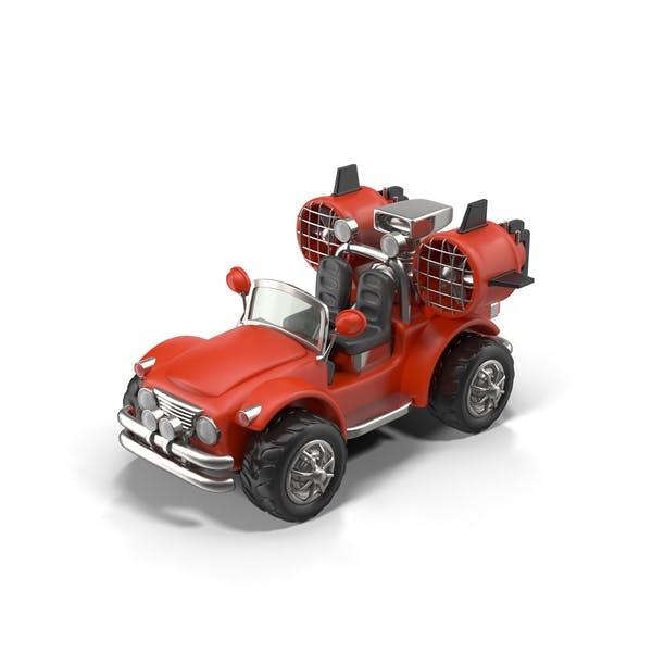 Cartoon Turbo Jeep
