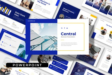 Central - Multipurpose Business Powerpoint