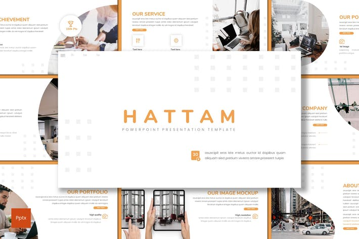 Thumbnail for Hattam - Business Powerpoint Template