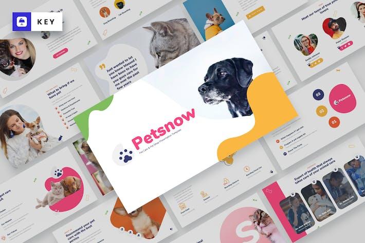 Petsnow - Pet Care & Pet Shop Keynote Template