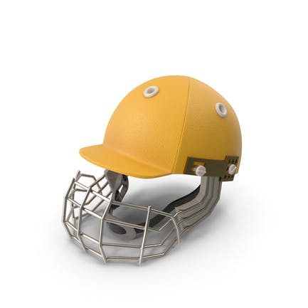 Cricket-Helm Gelb