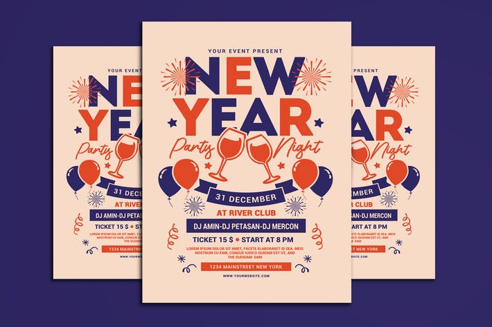 Cover Image For New Year Party Night