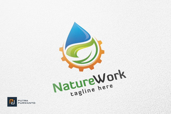 Thumbnail for Nature Work - Logo Template