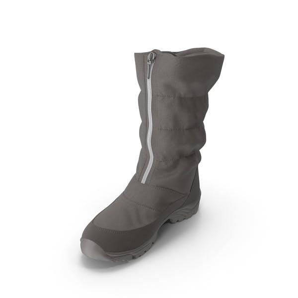 Women's Winter Boot Brown