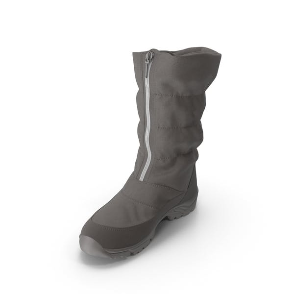 Women's Winter Boot Brown