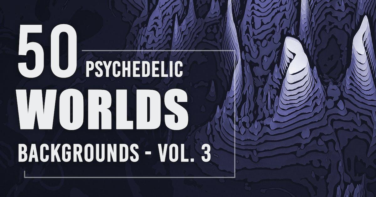 Download 50 Psychedelic Worlds Backgrounds - Vol. 3 by Eldamar_Studio